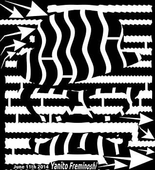 Moustache Maze by Yanito Freminoshi
