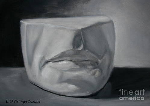 Mouth Cast Study by Lisa Phillips Owens