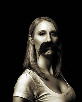Movember First by Ashley King