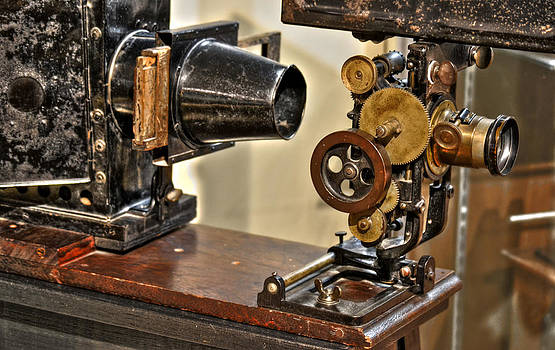 Movie Projector by Timothy Lowry
