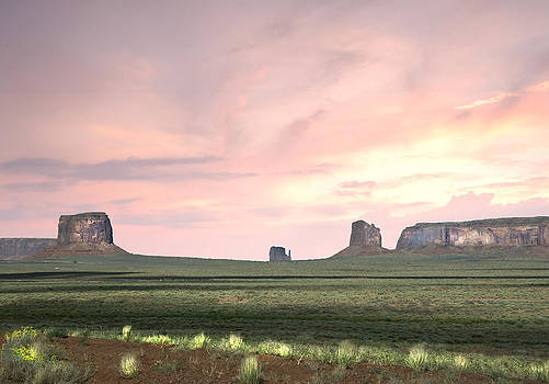 Randall Branham - movie time Monument Valley