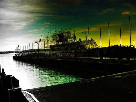 Moving Ferry by Peter Berdan