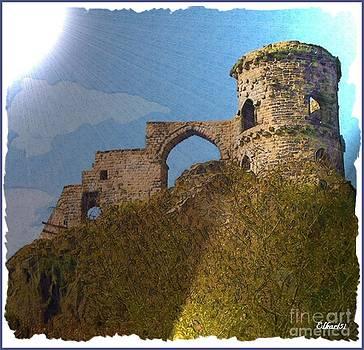 Mow Cop Castle England by Gra Howard
