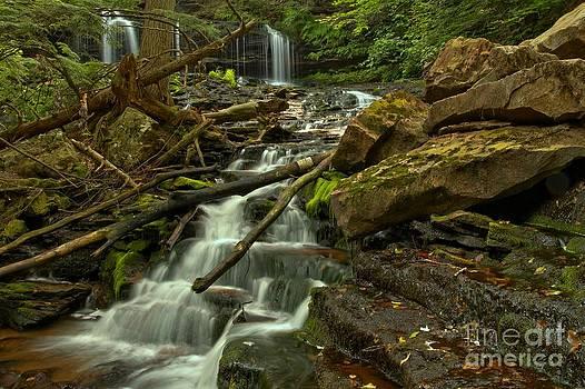 Adam Jewell - Mowhawk Falls Cascades