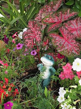 Mr. Froggy in the Garden by Barbara Yearty