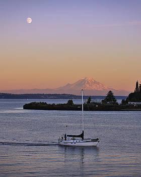 Adam Romanowicz - Mt. Rainier Afterglow