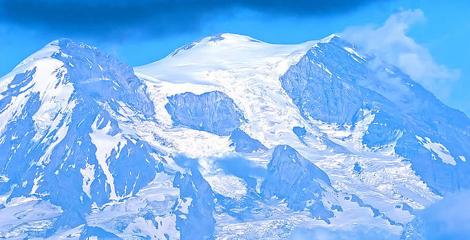 Randall Branham - Mt Rainier Glaciers