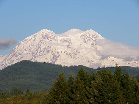 Mt. Ranier 1 by Sarah Egan