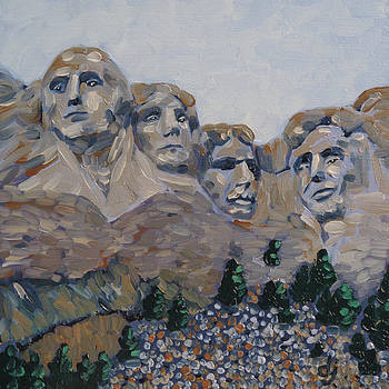 Mt Rushmore by Dorothy Jenson