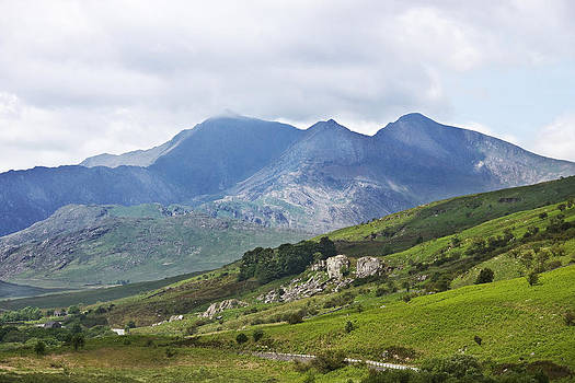 Mt Snowdon from Dyffryn Mymbyr by Jane McIlroy
