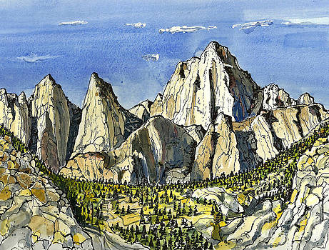 Mt. Whitney by Terry Banderas