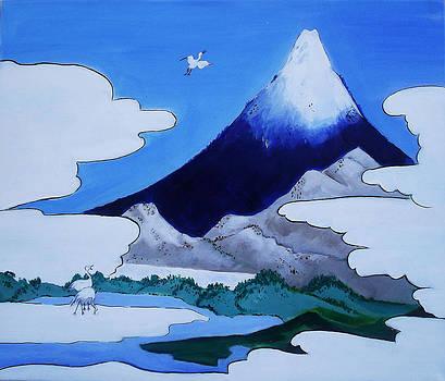 Mt.Fuji by Gloria Dietz-Kiebron
