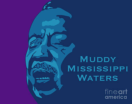 Muddy Mississippi Waters Number Two by Patrick Collins