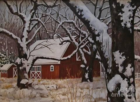 Mullen Hill Barn by Karen Olson
