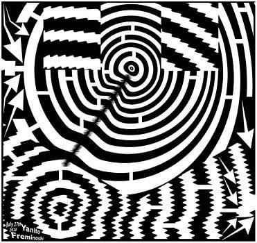Multiple target maze by Yanito Freminoshi