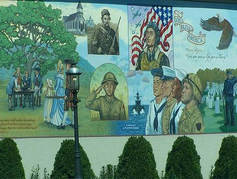 Mural In Memory Of by Lila Mattison