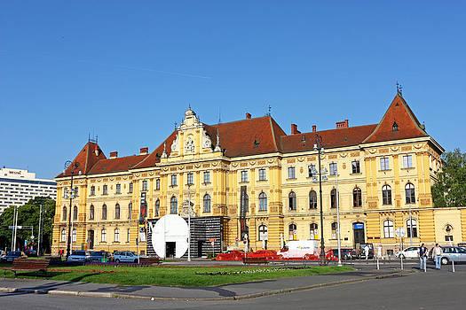 Museum of Arts and Crafts Zagreb by Borislav Marinic