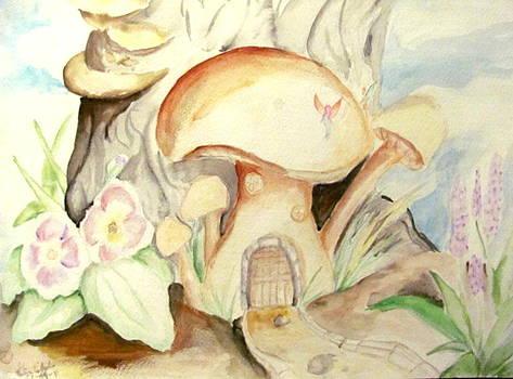 Mushroom House by Gina Hyde
