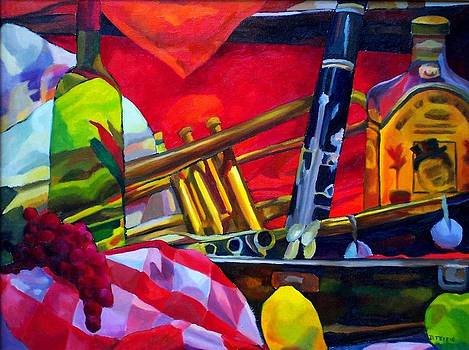 Music Fruit and Drink by Donna Teleis