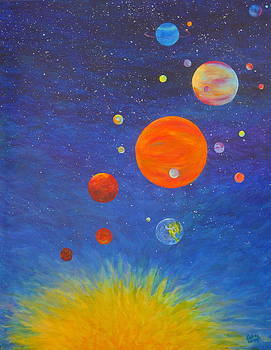 Music of the Spheres 2 by Betsy Moran