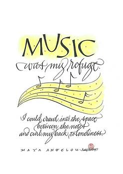 Music Was My Refuge by Sally Penley