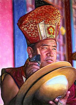 Steve Harrington - Musical Monk - Paint