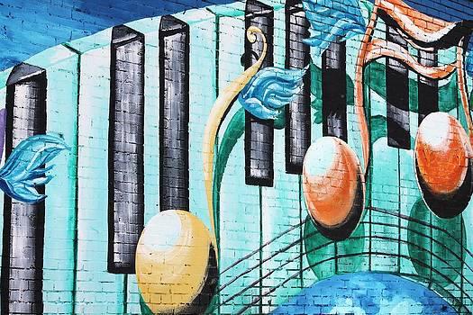Musical Notes in Deep Ellum by Lorri Crossno