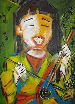 Musical player by Chantal Lariviere