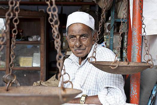 Muslim Vendor by Sonny Marcyan