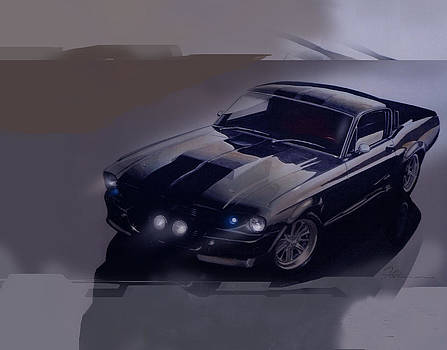 Mustang Eleanor by Fred Otene