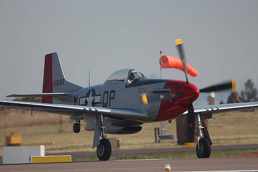 Mustang Landing by Paul Job