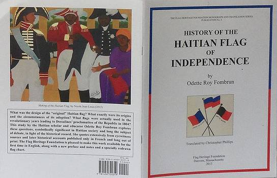 My Artwork The Making Of The Haitian Flag In Publication by Nicole Jean-Louis