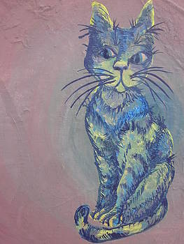 My Blue Cat by Cherie Sexsmith