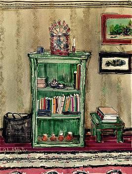 My bookcase by Gilberto De Martino