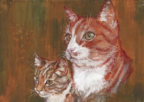 My buddies by Anneke Hut