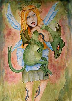 My Dragon by Carrie Viscome Skinner