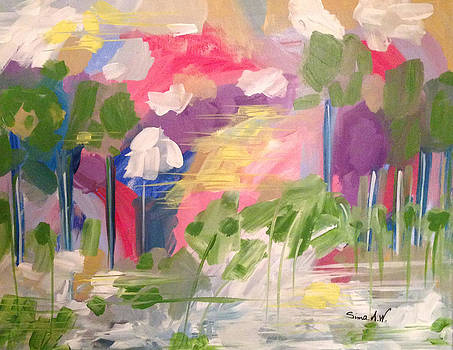 My dream by Sima Amid Wewetzer