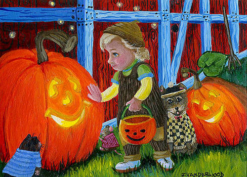 My Friends the Pumpkins by Jacquelin Vanderwood