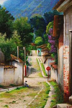 My little town by Julio Ortiz