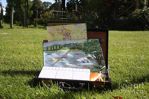 My Outdoor Painting Box by Phong Trinh