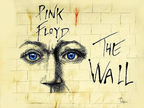 My Pink Floyd Wall by Todd Spaur