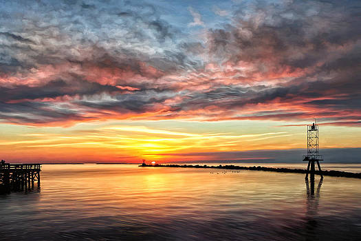 My Return to Cape Charles Virginia by Michael Pickett