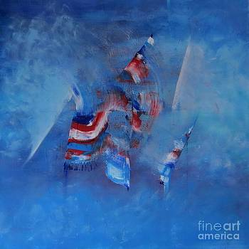 My spirit up flag by Lalo Gutierrez
