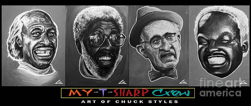 My-t-sharp Crew Blk by Chuck Styles