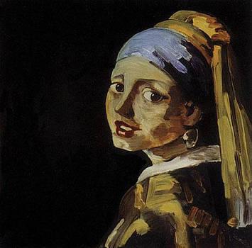 My Vermeer by Kerrie B Wrye