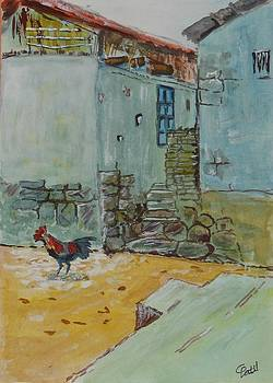 My Village-2 by Chandra Patil