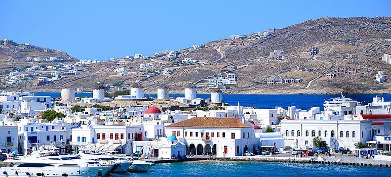 Corinne Rhode - Mykonos Port