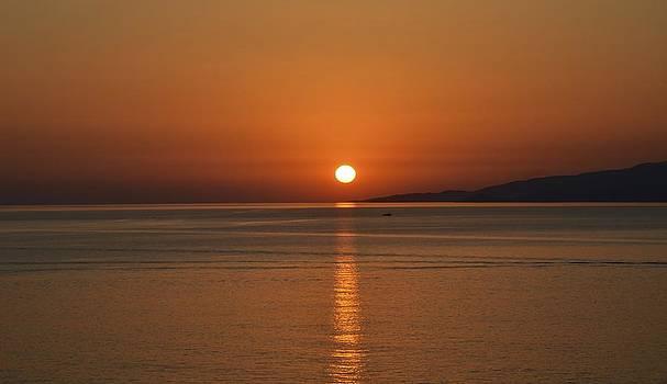 Corinne Rhode - Mykonos Sunset