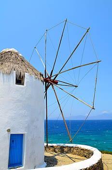 Corinne Rhode - Mykonos Windmill