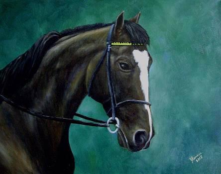 Mtoto-European Racehorse by Joann Renner